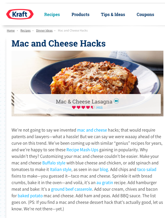 mac and cheese hacks